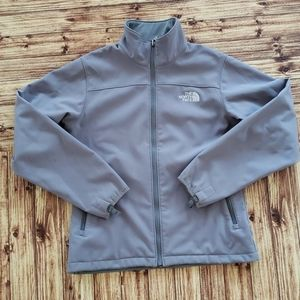 Women's The North Face Small Grey Zip up Jacket